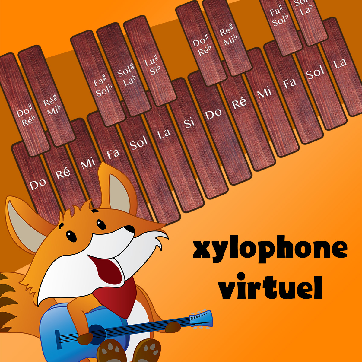 Xylophone virtuel